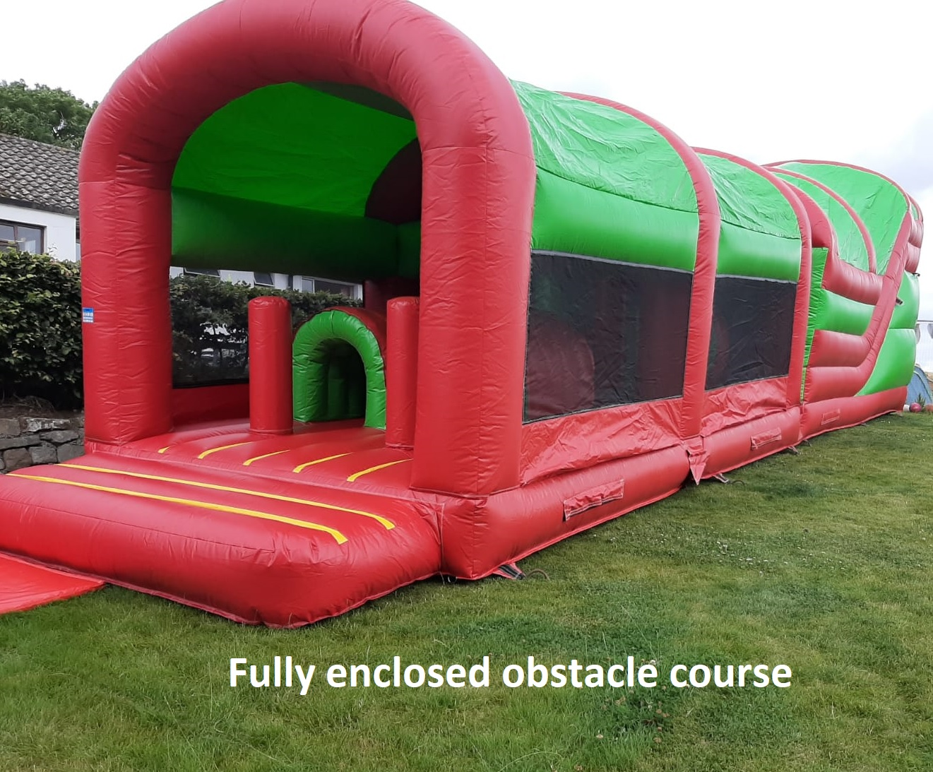 Fully enclosed obstacle